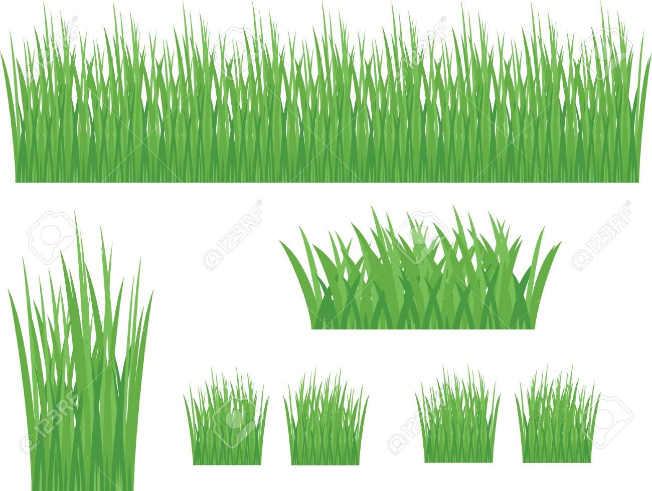 草クリップアートのイラスト素材ベクタ Image 77252486