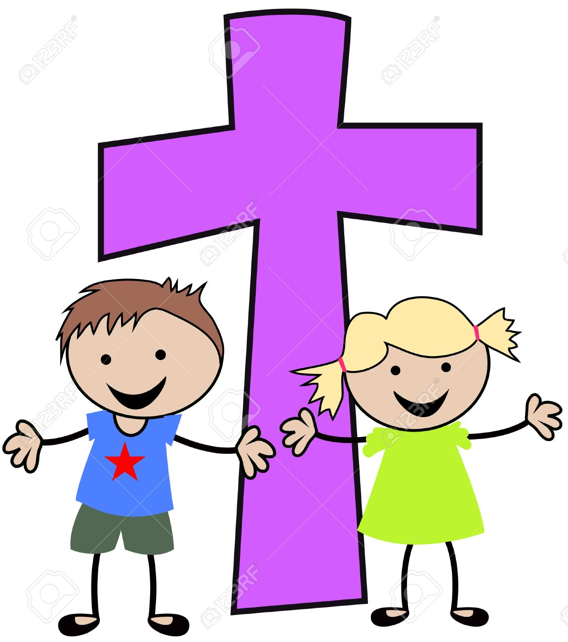 Image result for cross with children