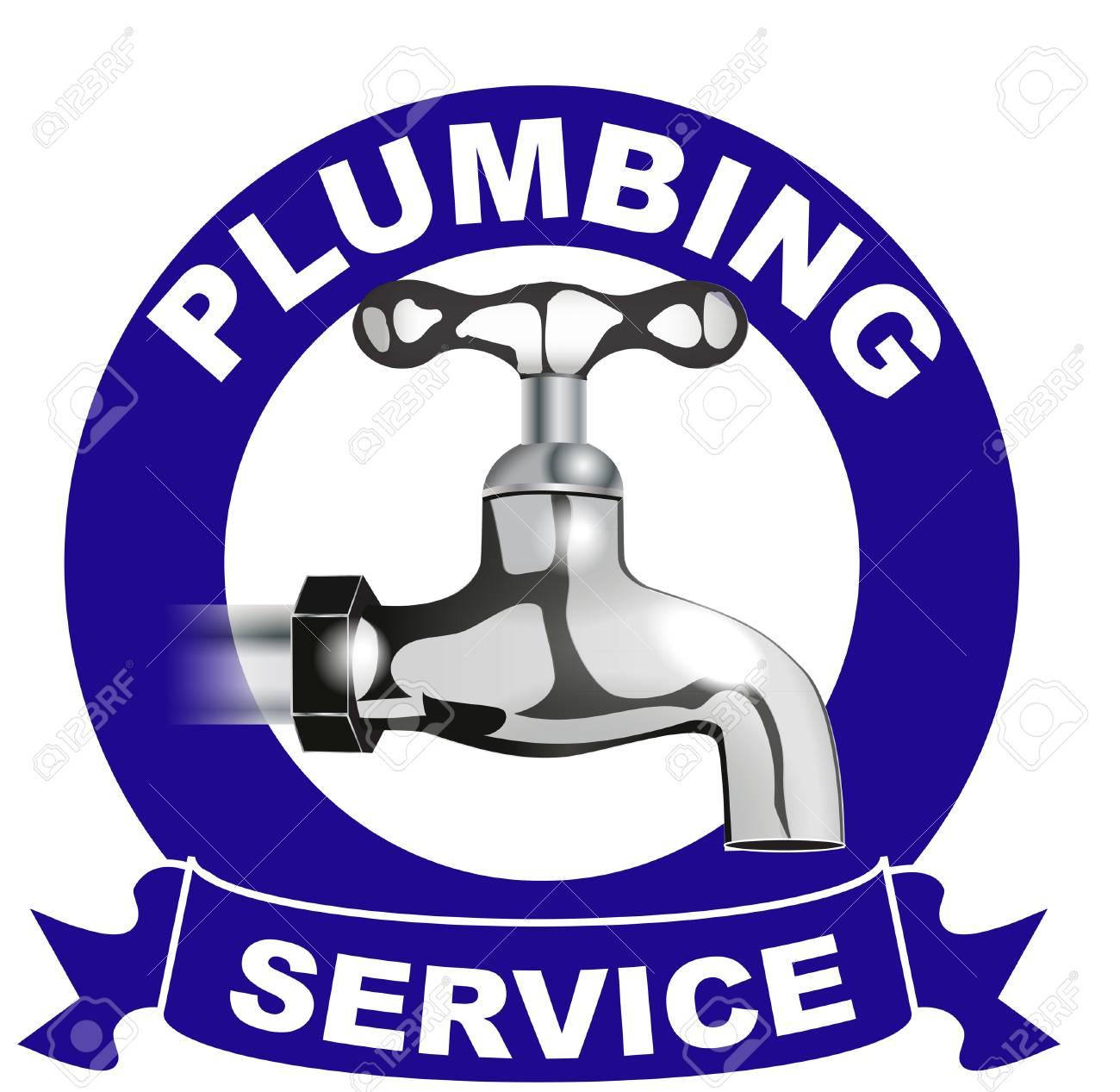 plumbing services logo stock photo picture and royalty free image rh 123rf com plumbing logos free plumbing logo ideas