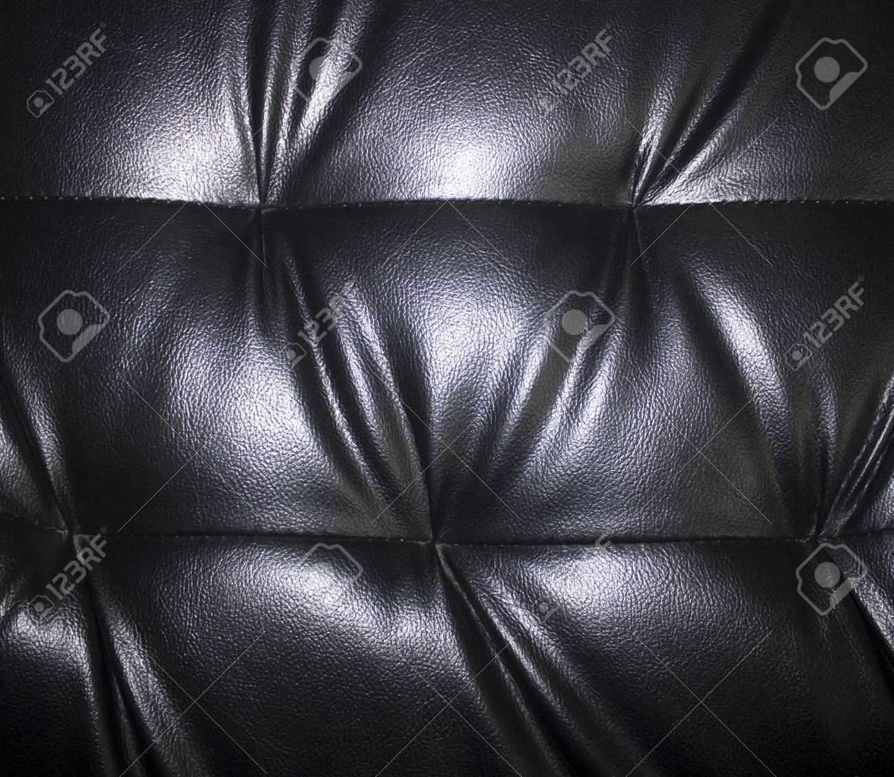 Black leather . Stock Photo - 24198418