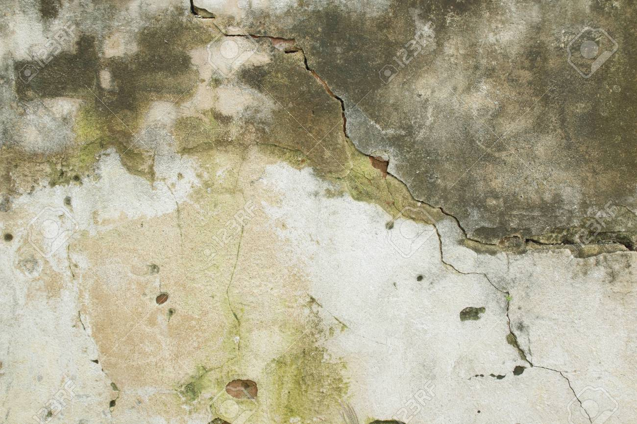 cracked concrete vintage wall background old wall stock photo