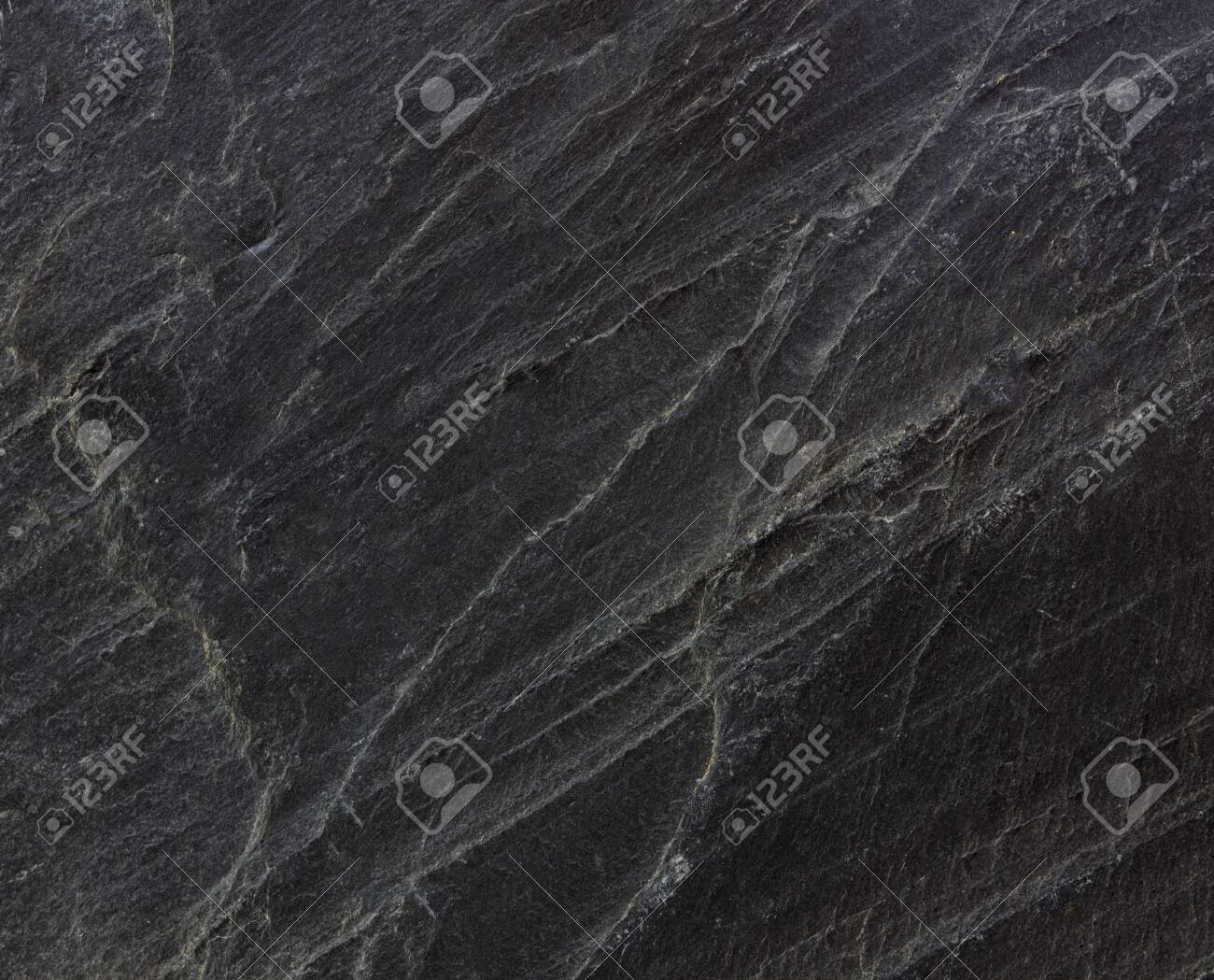 Dark grey black slate background or texture - 141298096
