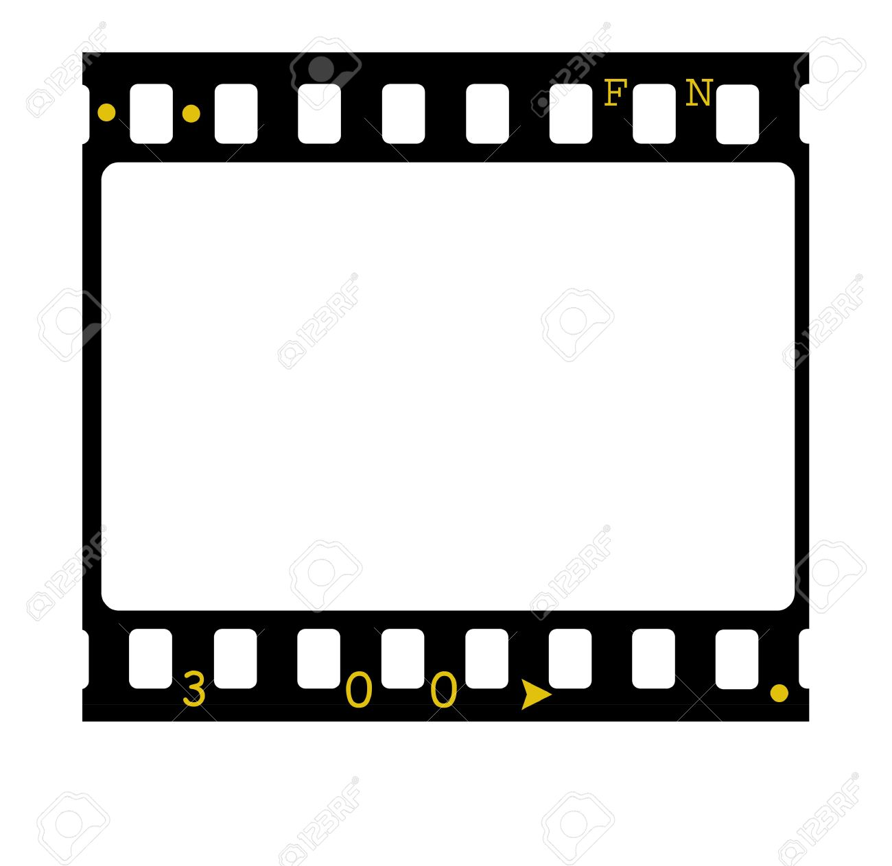 35mm Film Frames,2D Art Stock Photo, Picture And Royalty Free Image ...
