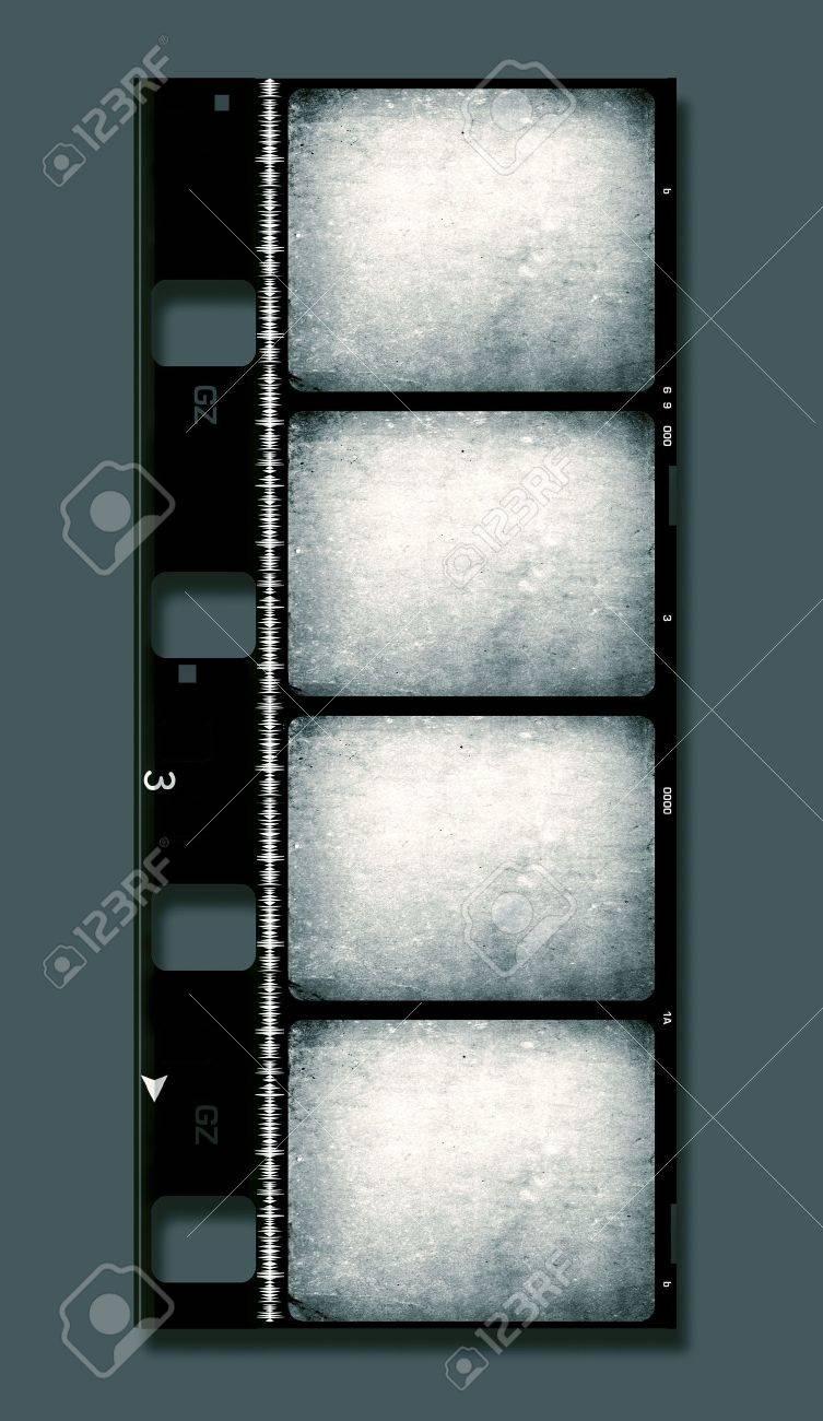 8mm Film roll,2D digital art Stock Photo - 3380491