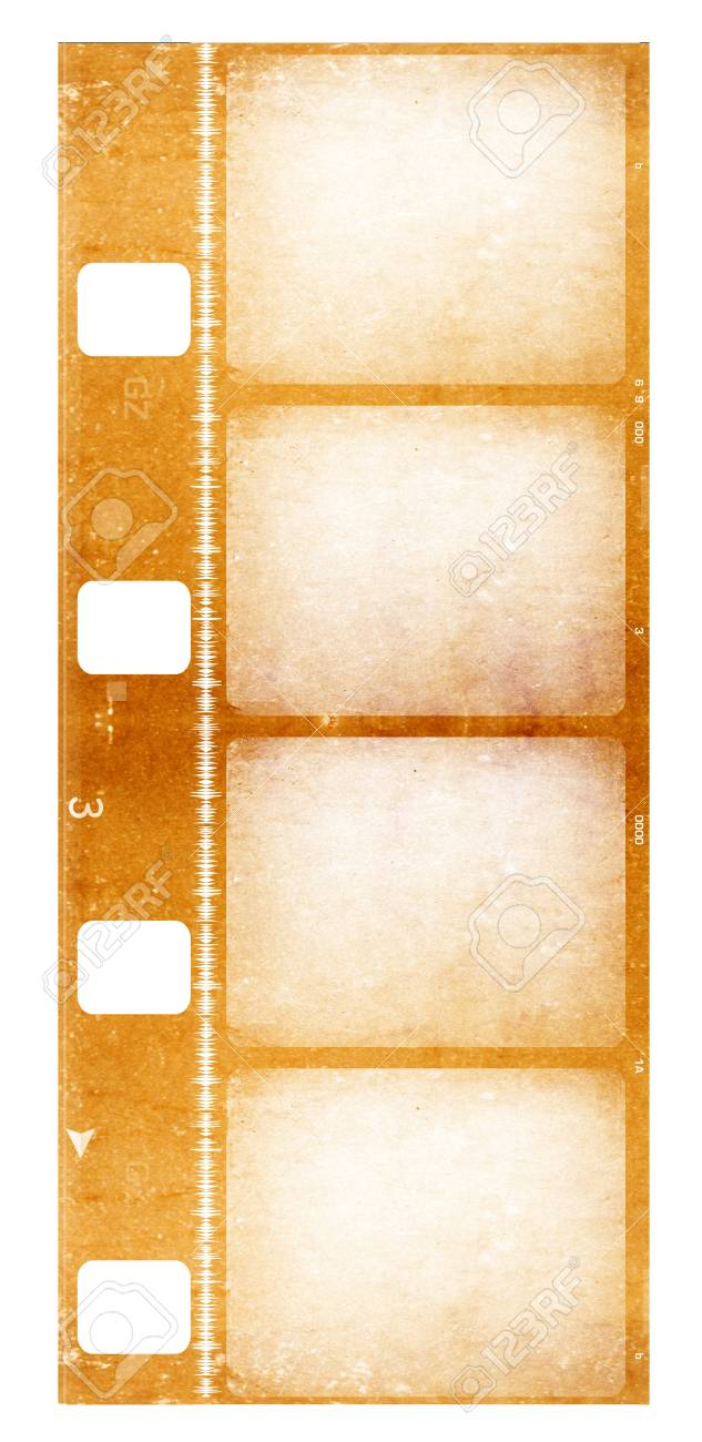8 mm Film roll , 2D digital art Stock Photo - 3405399