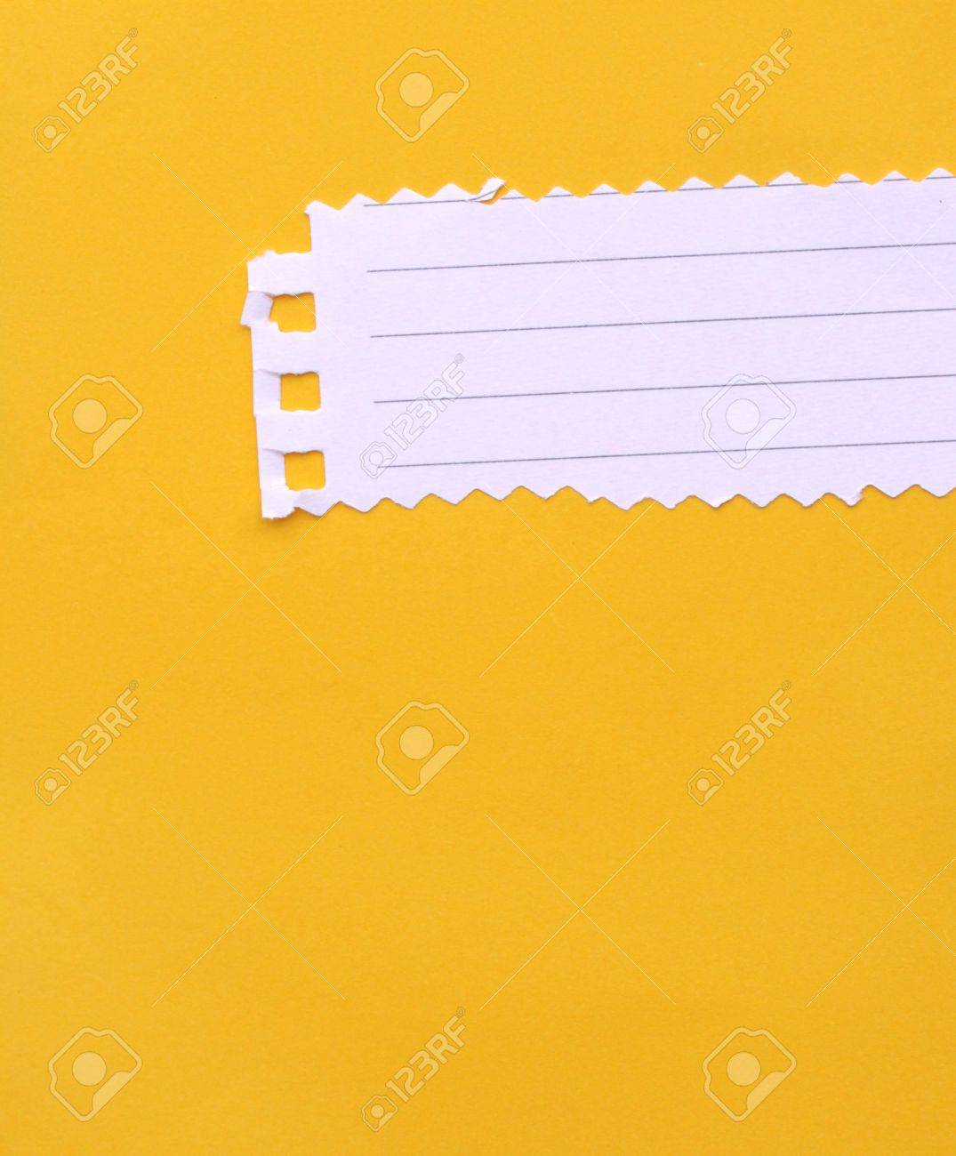 Close up of note paper for background - 7358495