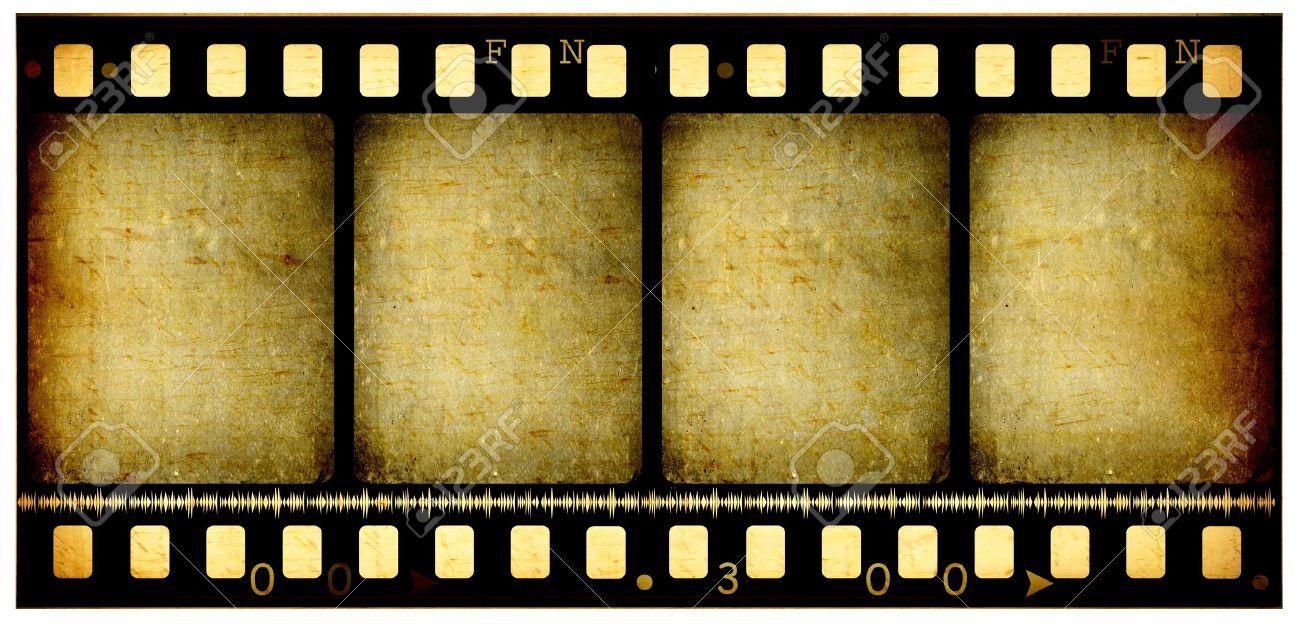 Old 35 mm movie Film reel,2D digital art Stock Photo - 7494978