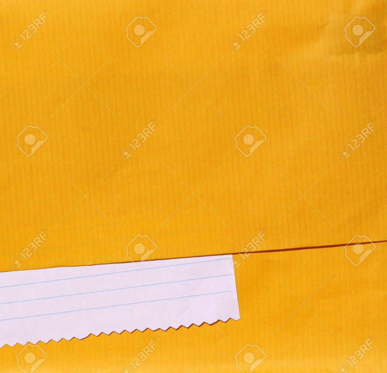 Close up of note paper for background - 7546500
