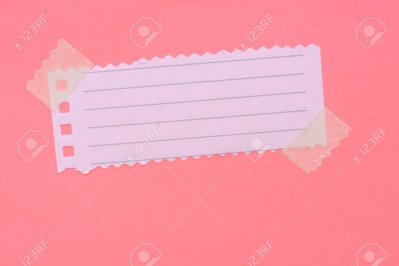 Close up of note paper for background - 7593801