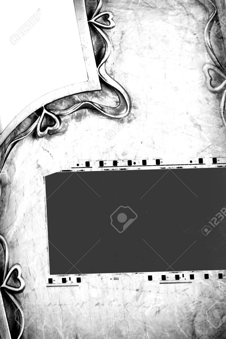 Close up of vintage movie film strips Stock Photo - 8462998