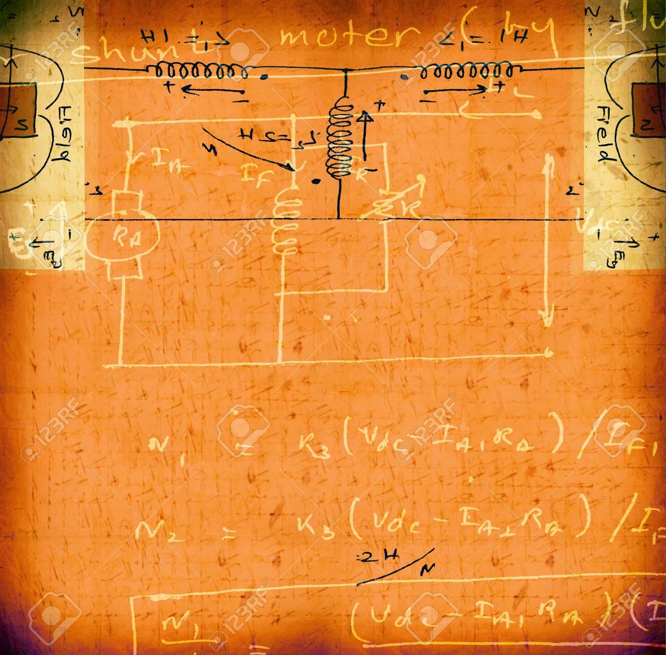 Electronic engineering illustration for background Stock Photo - 8535775