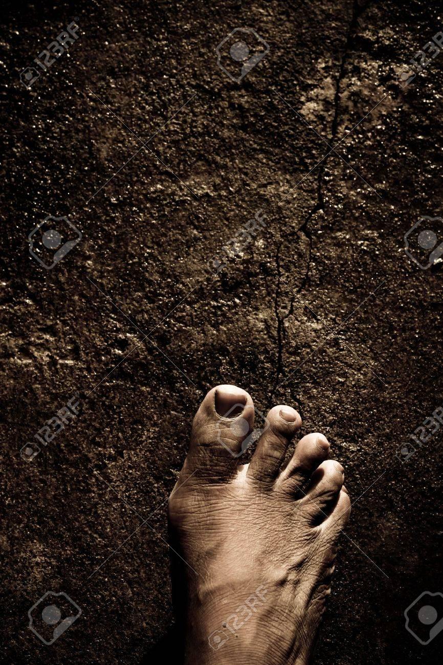 Close up of Bare Feet - 10477807
