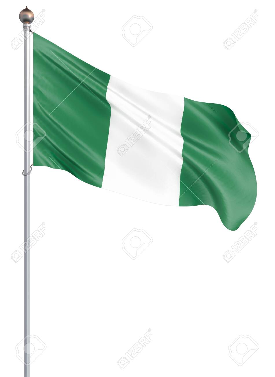 Nigeria Flag Blowing In The Wind Background Texture 3d Rendering Stock Photo Picture And Royalty Free Image Image 140752860