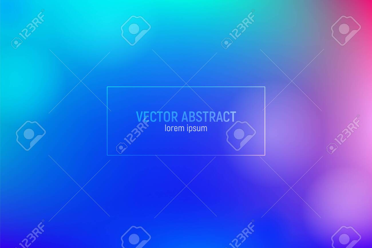 Colorful mesh background. Backgroud with gradient color blue and purple. Colorful mesh background with vibrant gradient for flyer and business presentation. - 131832385