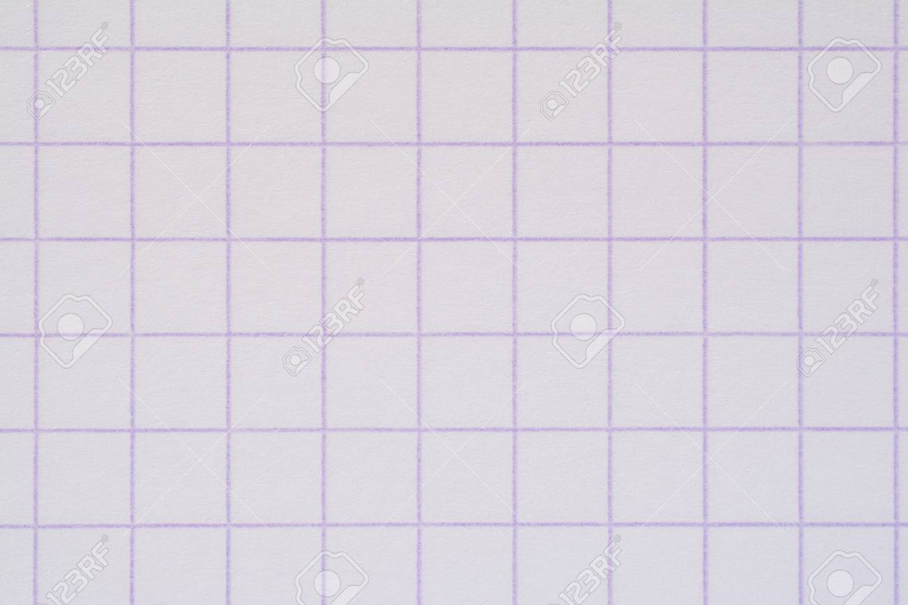 squared notebook paper texture closeup background stock photo 74266222
