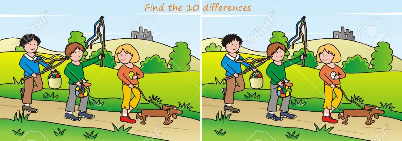 """Résultat de recherche d'images pour """"trouver les 10 différences"""""""