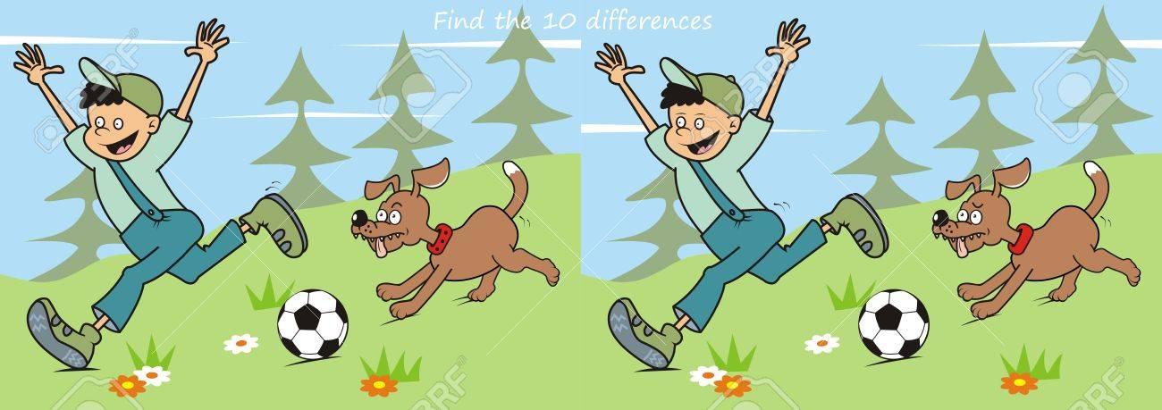 """Résultat de recherche d'images pour """"jeu différence chien"""""""