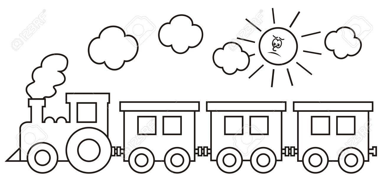 Lujo Vagón Para Colorear Friso - Dibujos Para Colorear En Línea ...