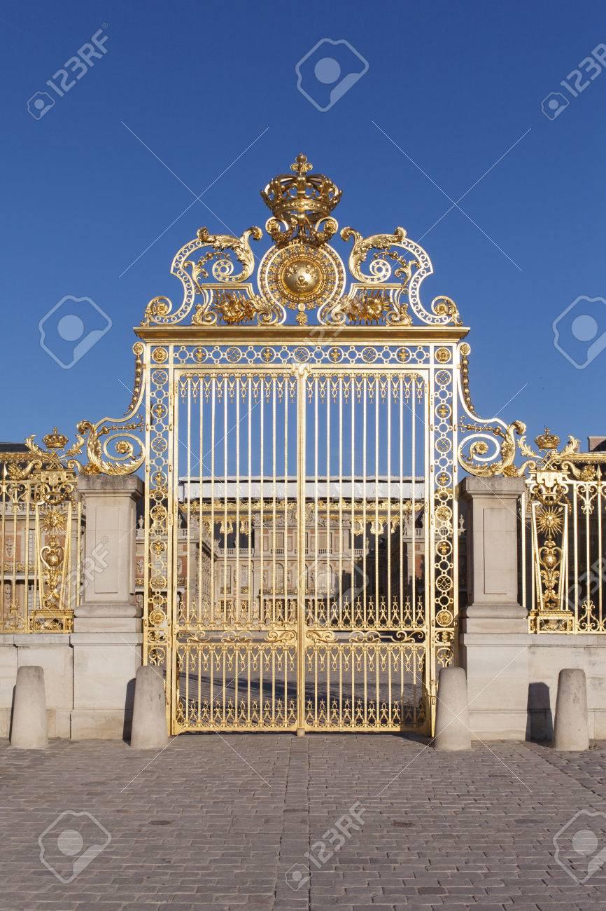 Golden Gates of Versailles Golden Gate of Versailles