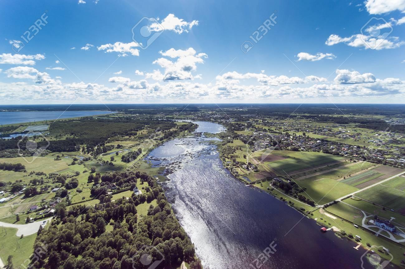 Riga, ラトビアの近くのドール島...