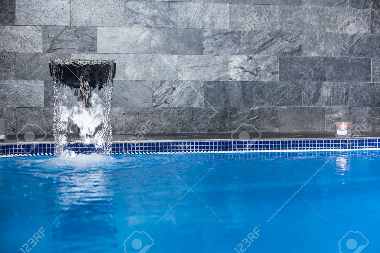 Interior of wellness and Spa swimming pool. - 28771172