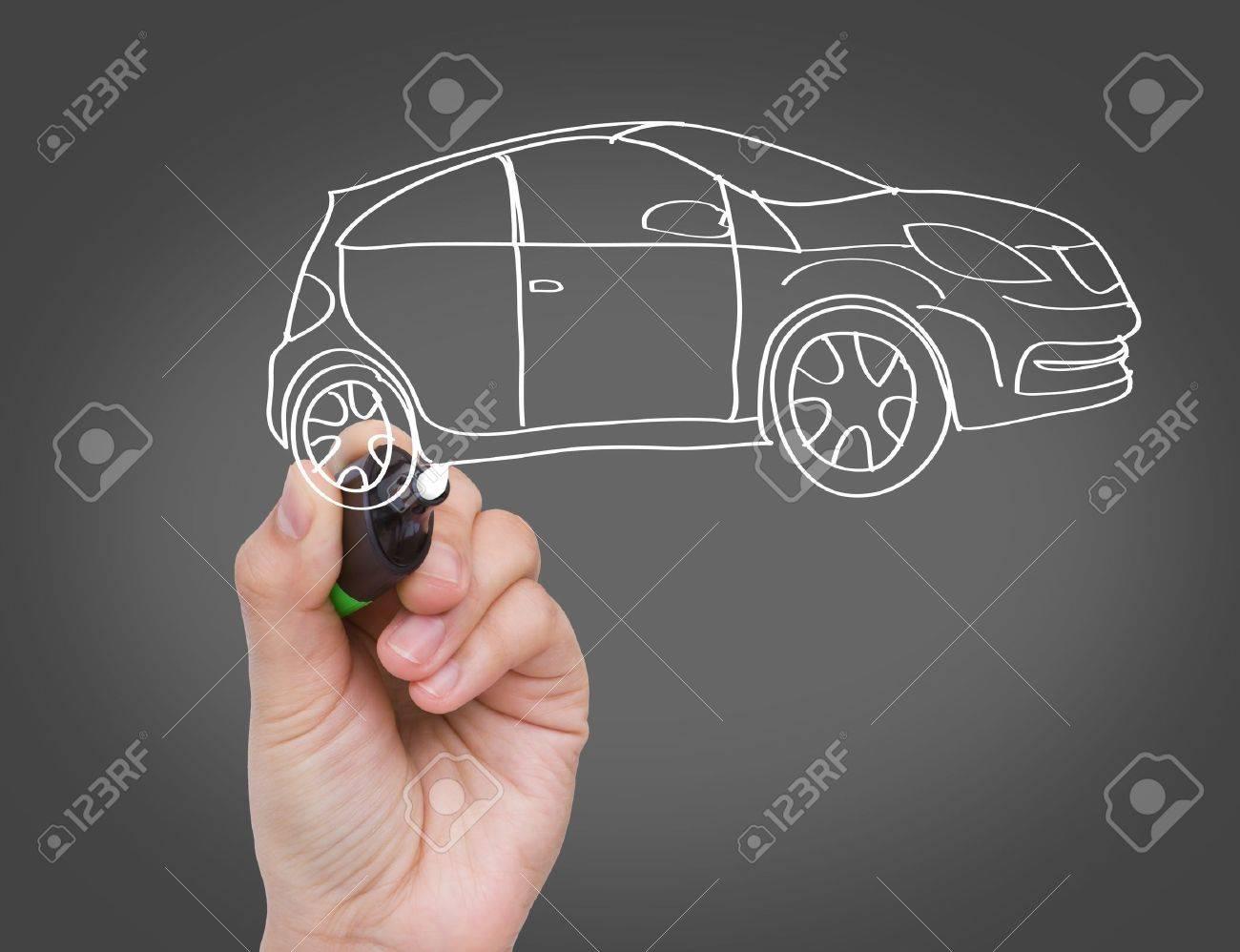 New car concept Stock Photo - 11132743