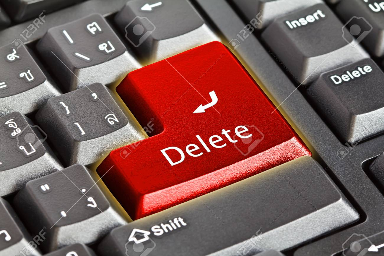 Computer keyboard - green key Stock Photo - 13624240