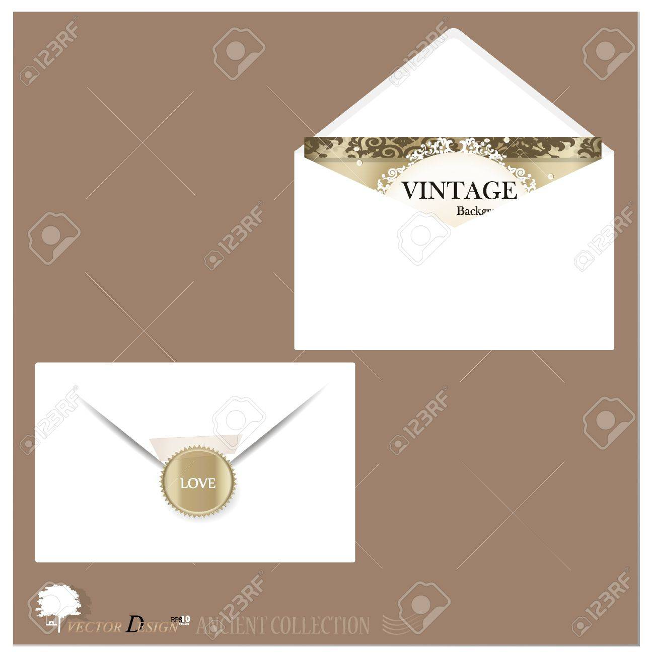 Envelope and postcard designs. Stock Vector - 14238274