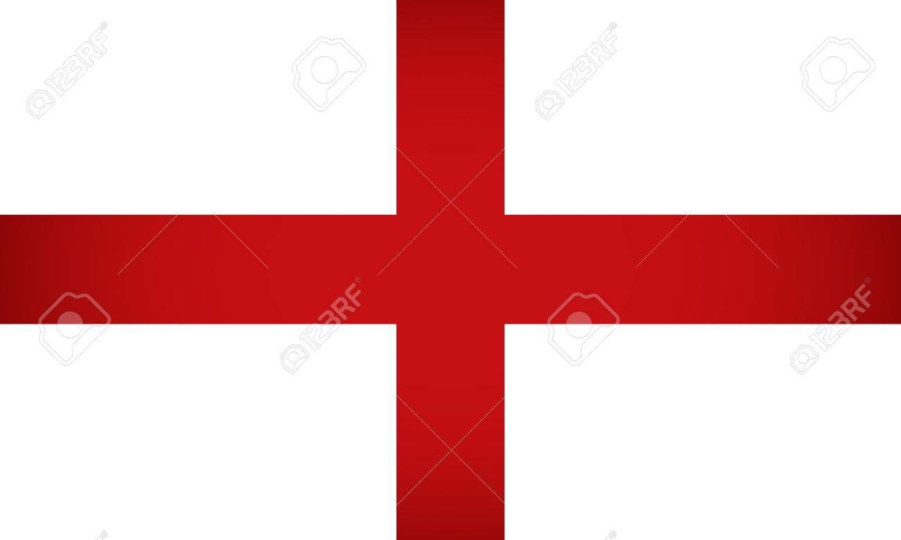 England Flag  Vector illustration Stock Vector - 14448312