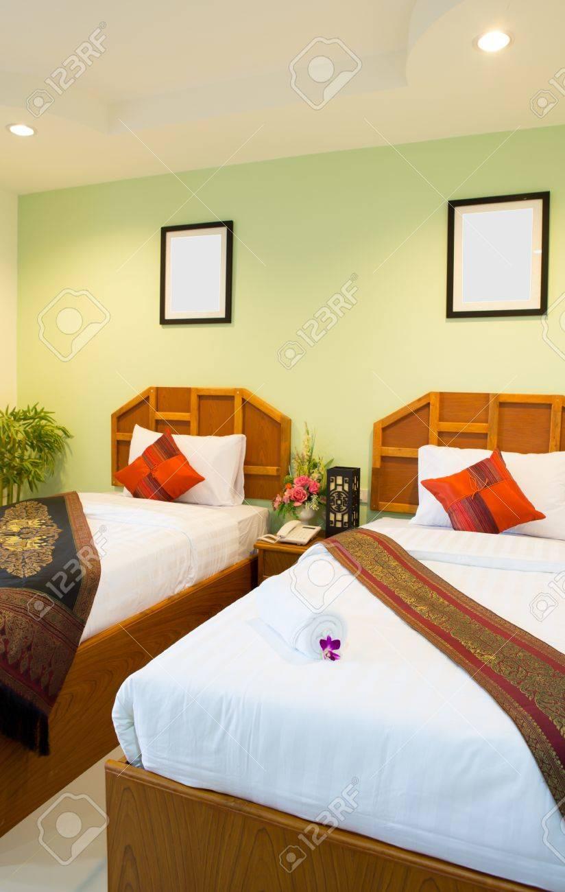 Interior of modern comfortable hotel room Stock Photo - 14943945