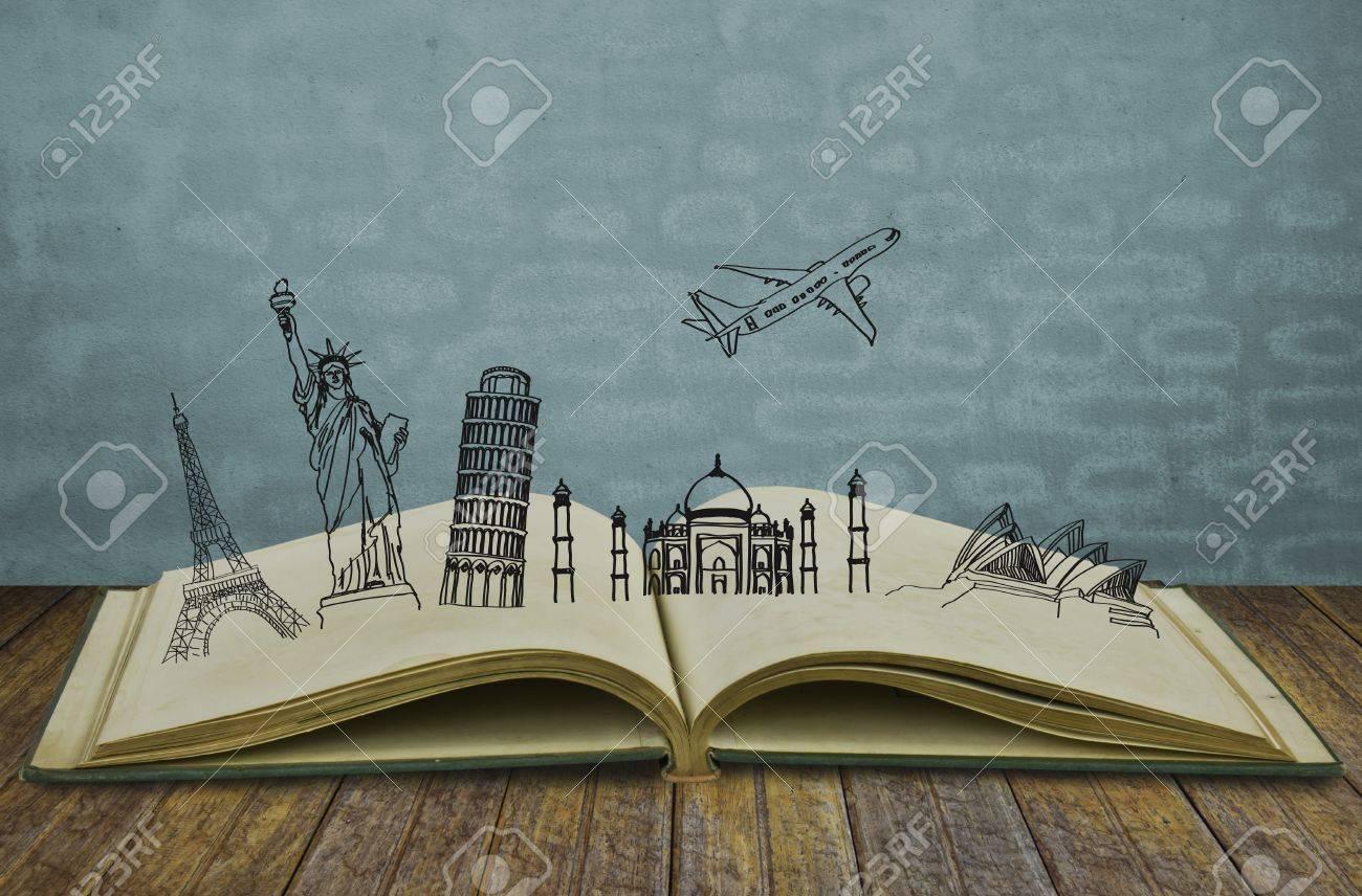 Book of travel (Australia,France,I taly,New York,India,) - 15093952