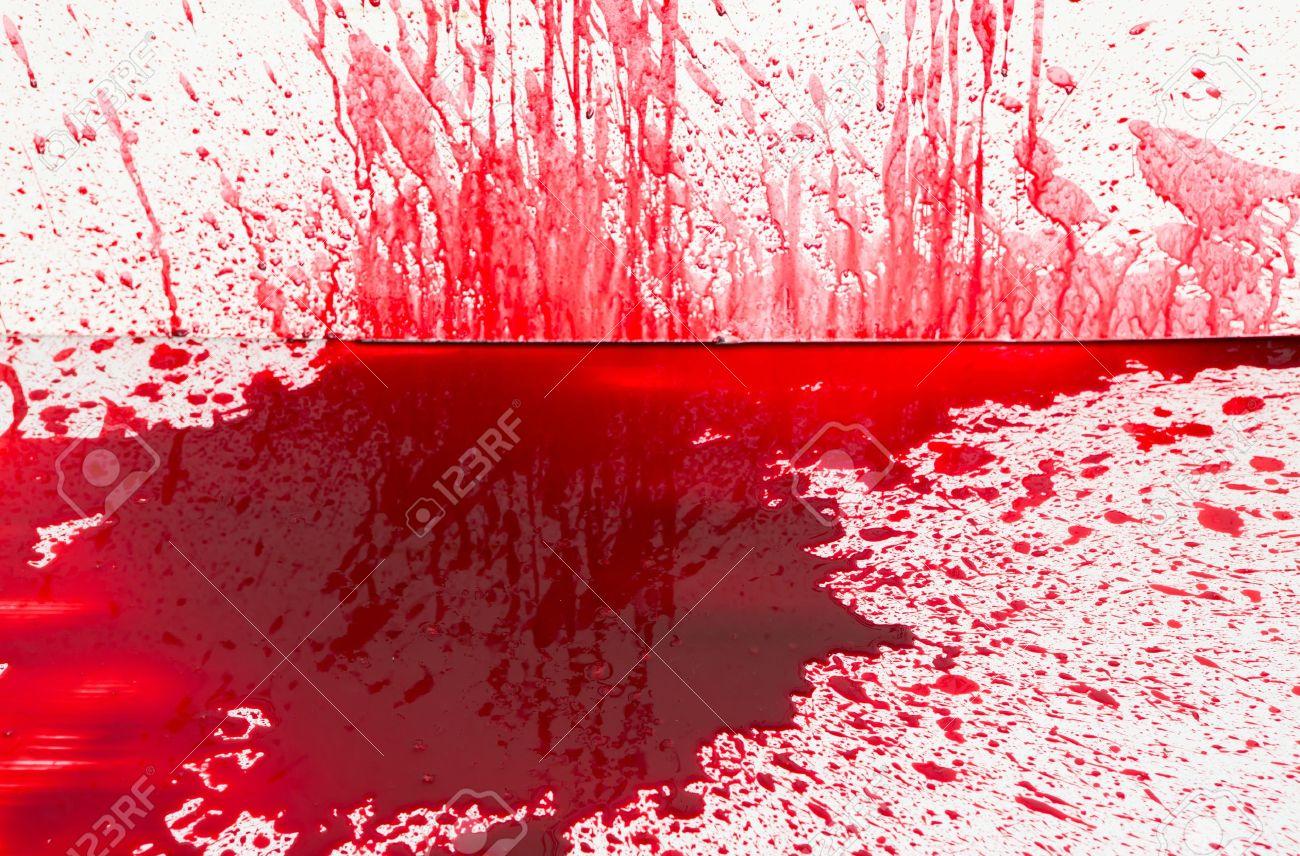 halloween concept blood splatter stock photo 15401508 - Blood For Halloween