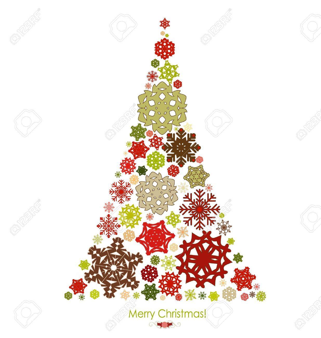 ベクトル イラスト クリスマス ツリーとクリスマスの背景。 ロイヤリティ