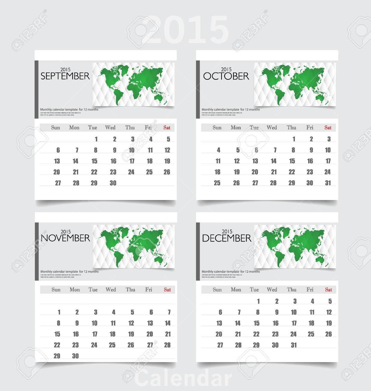 2015 full year calendar printable