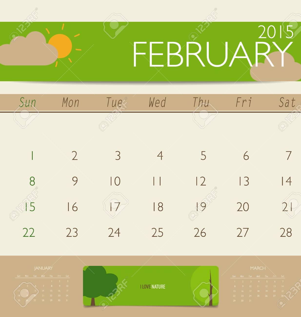 Wunderbar Monatsvorlage Für 2015 Kalender Fotos - Entry Level Resume ...