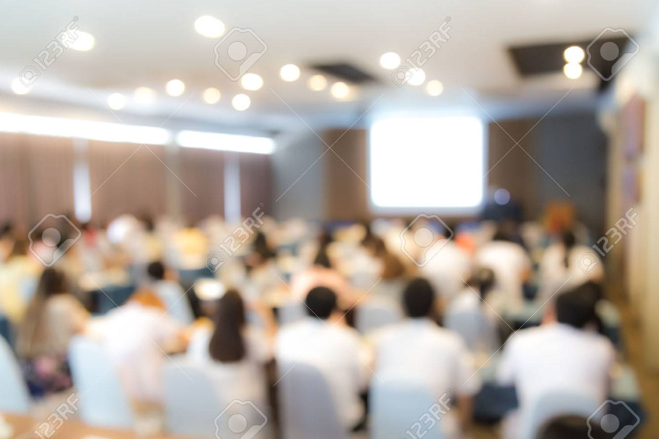 Abstract blur Business Conference and Presentation - 41634519