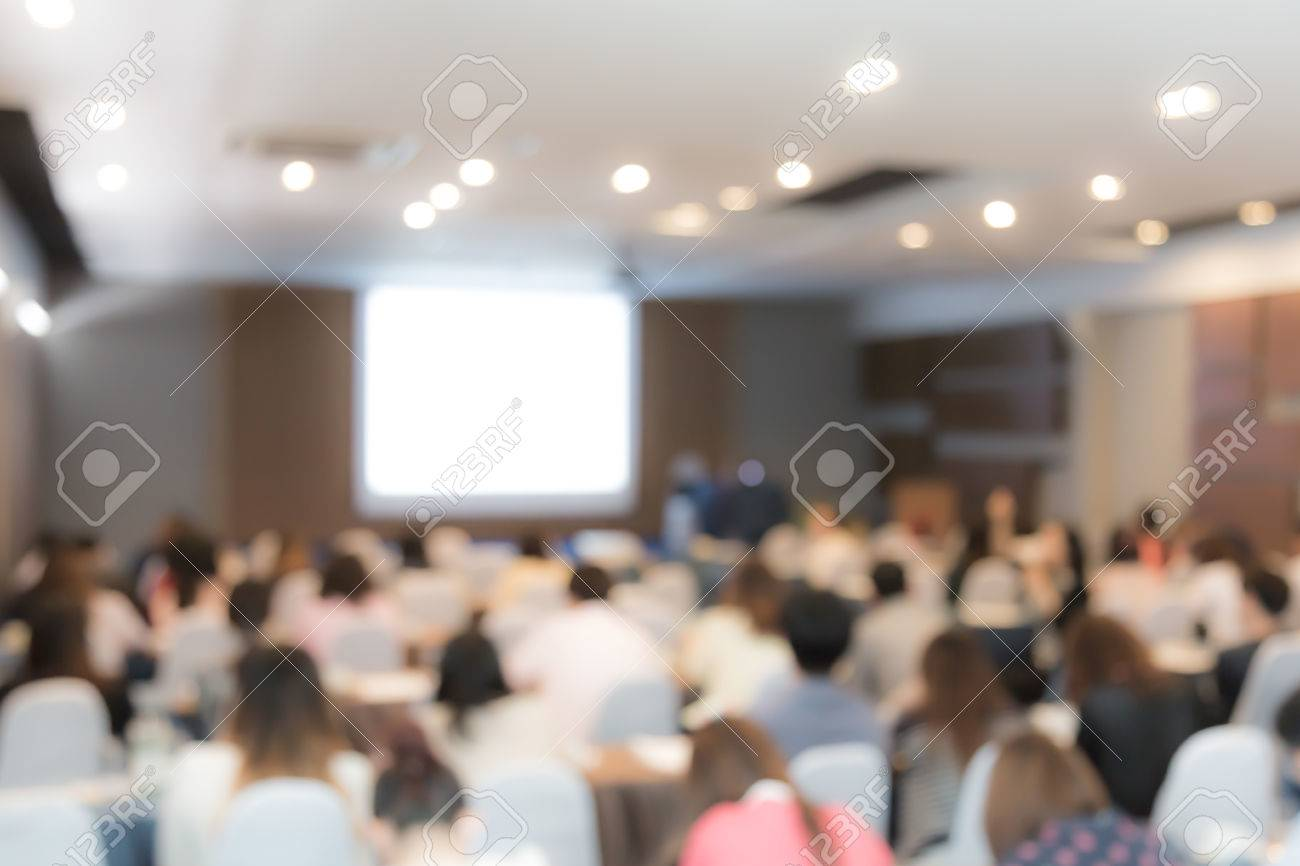 Abstract blur Business Conference and Presentation - 42457399