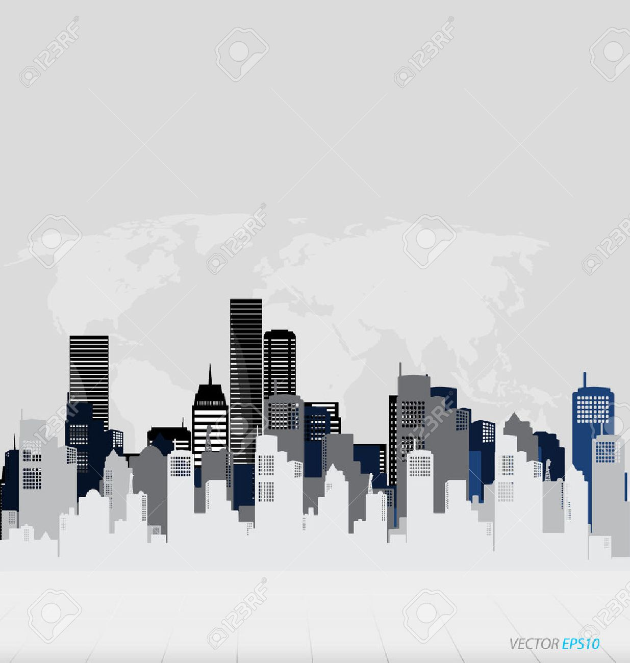 Creative building design template, for your company, vector illustration - 44865001