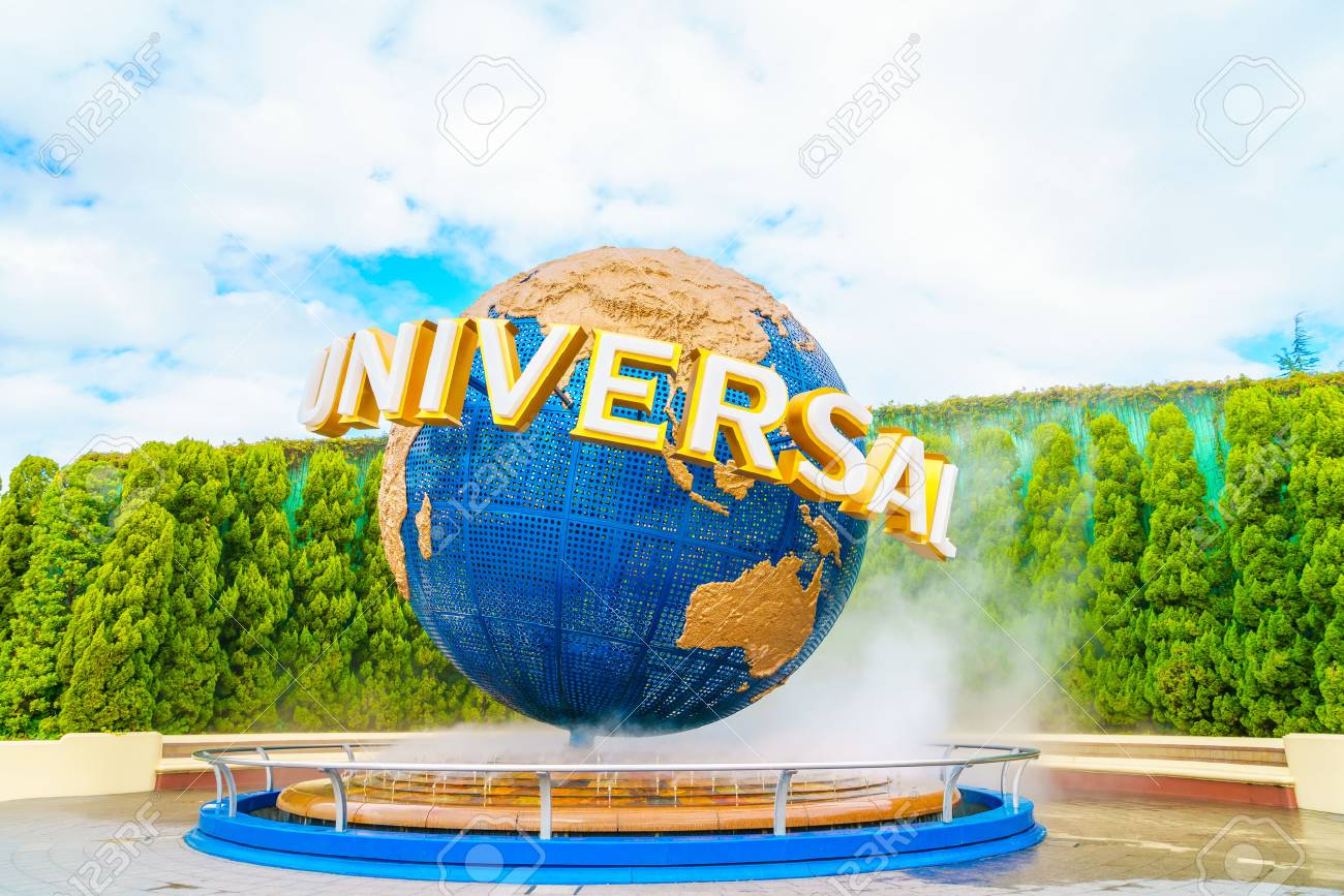 OSAKA, JAPAN - December 1, 2015: Universal Studios Japan (USJ). According to 2014 Theme Index Global Attraction Attendance Report, USJ is ranked fifth among the top 25 amusement parks worldwide. - 52319318