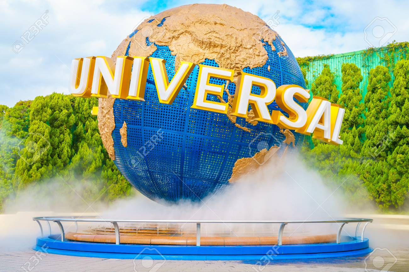 OSAKA, JAPAN - December 1, 2015: Universal Studios Japan (USJ). According to 2014 Theme Index Global Attraction Attendance Report, USJ is ranked fifth among the top 25 amusement parks worldwide. - 61170229