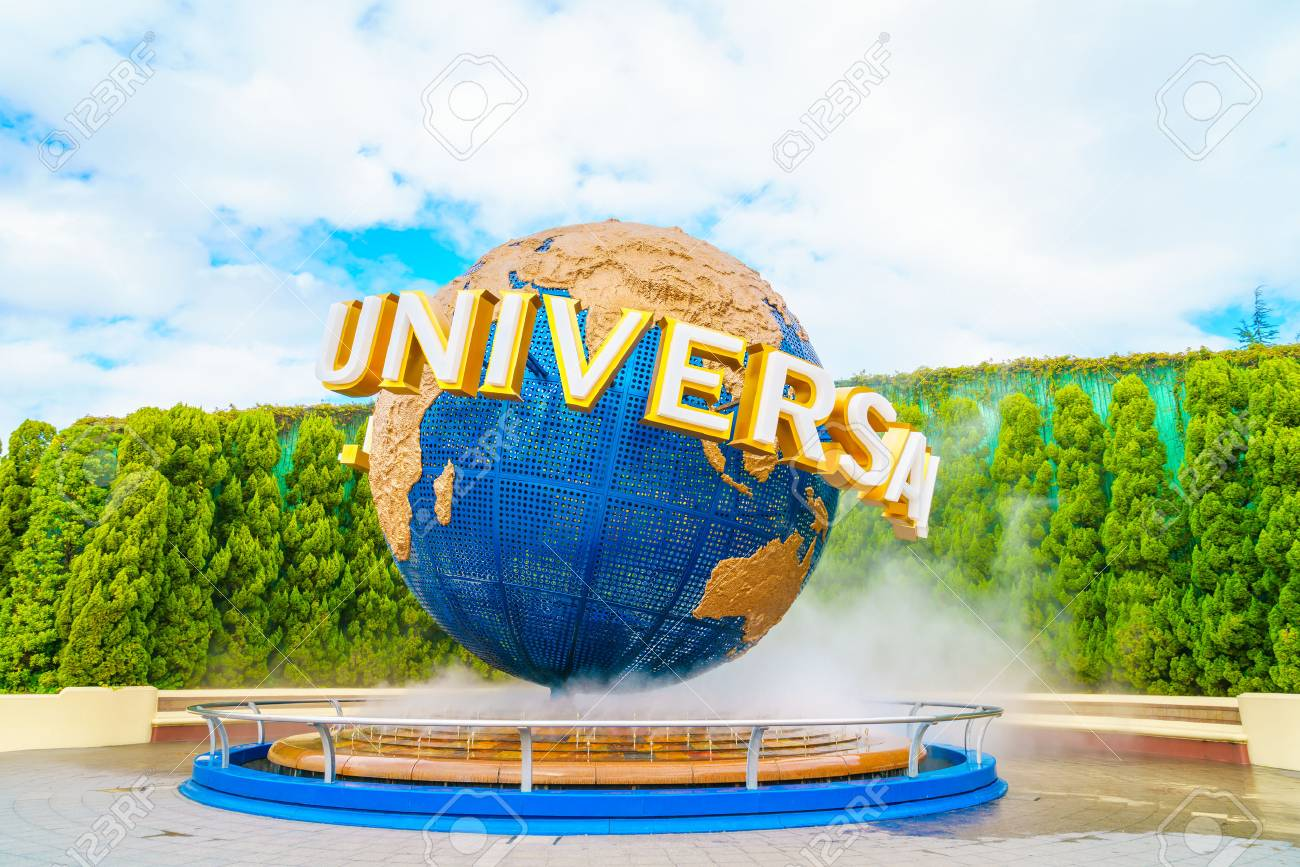 OSAKA, JAPAN - December 1, 2015: Universal Studios Japan (USJ). According to 2014 Theme Index Global Attraction Attendance Report, USJ is ranked fifth among the top 25 amusement parks worldwide. - 61818579