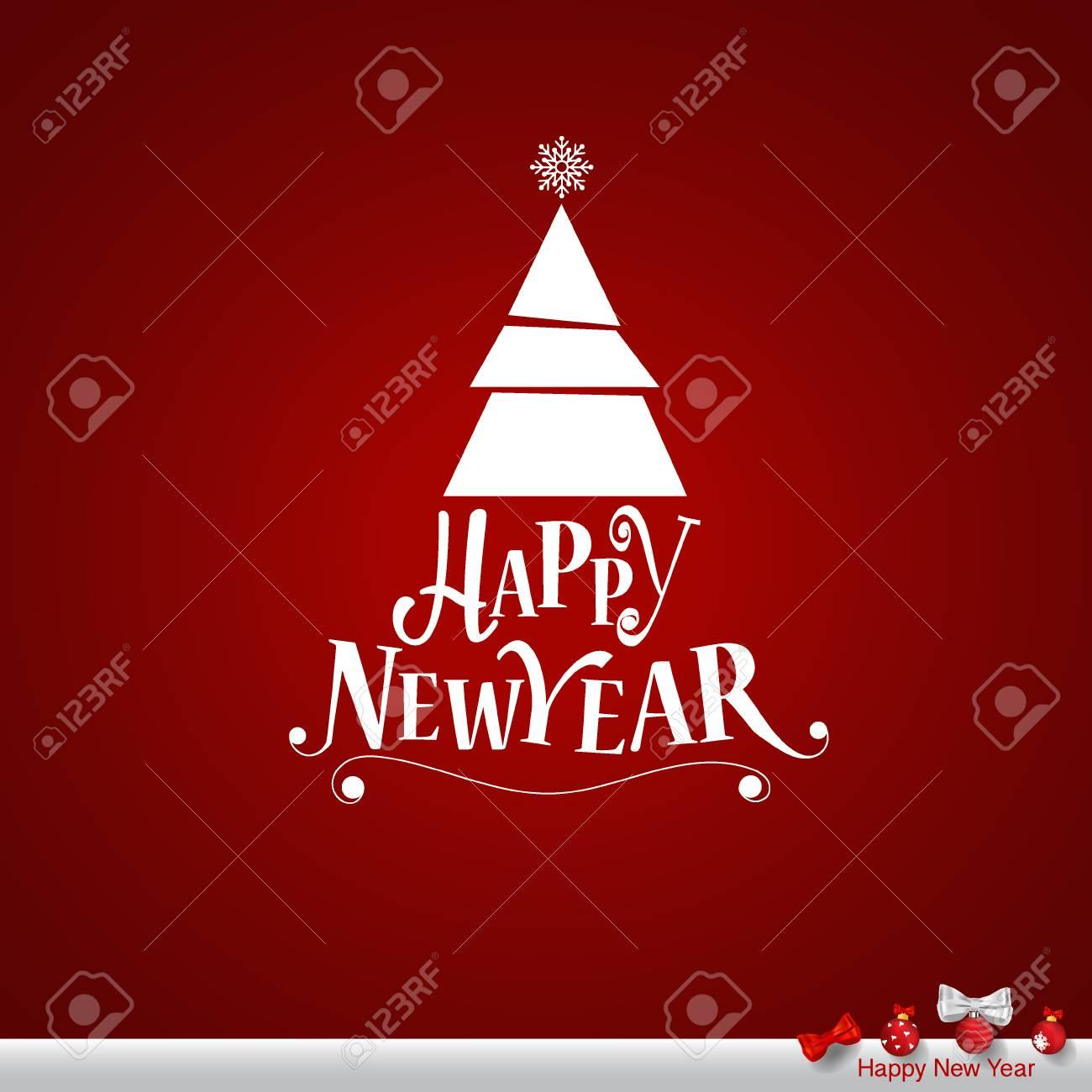 Frohe Weihnachten Einen Guten Rutsch Ins Neue Jahr.Stock Photo