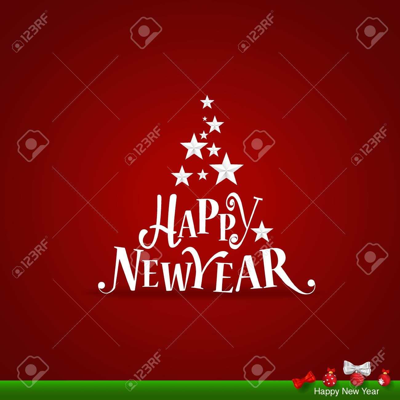 Frohe Weihnachten Und Guten Rutsch In Neues Jahr.Stock Photo