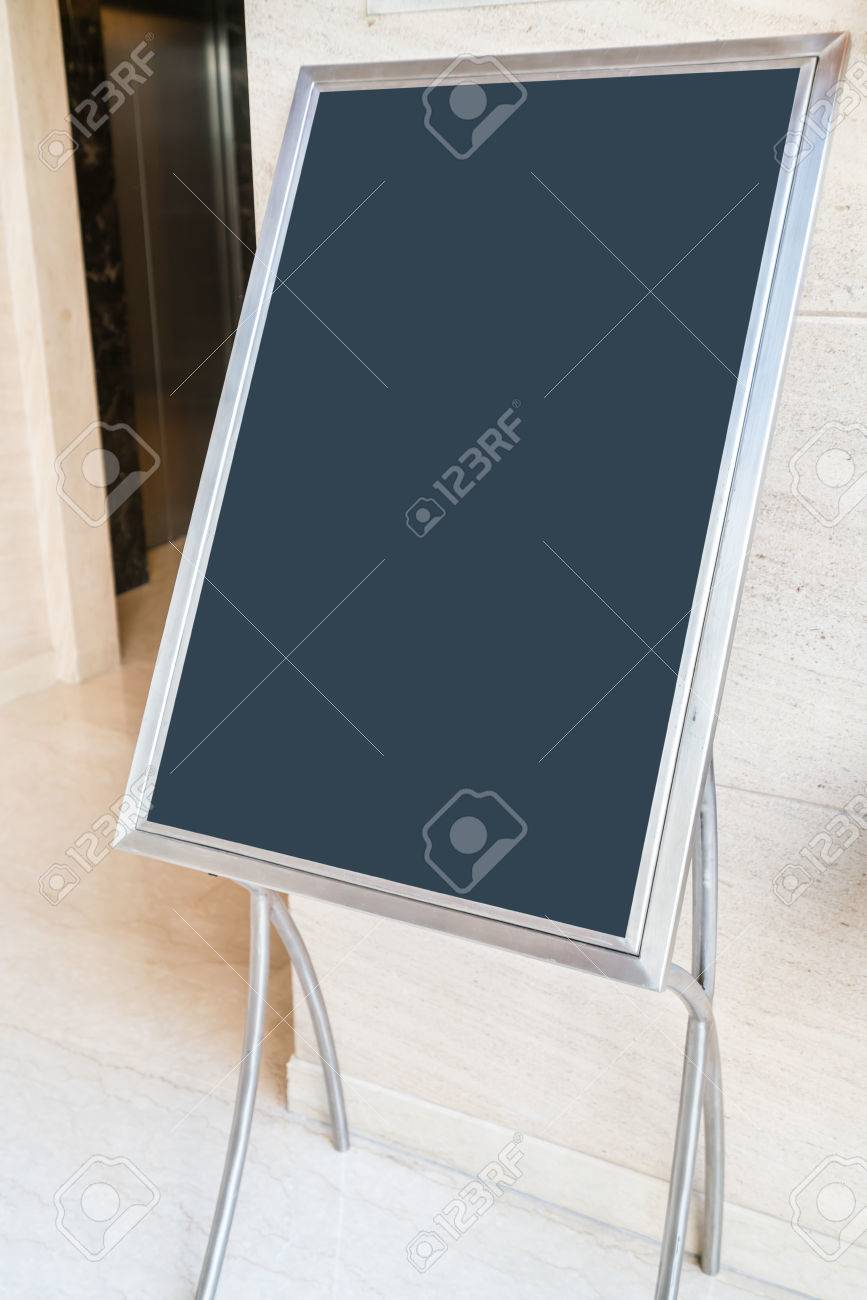 Informational Signs At The Door Of Conference Hall Stock Photo - Conference table signs