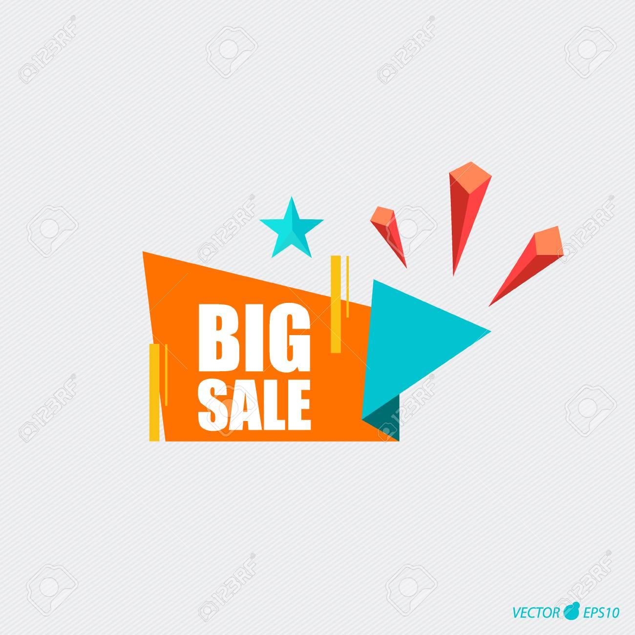 sale label price tag template design vector illustration stock