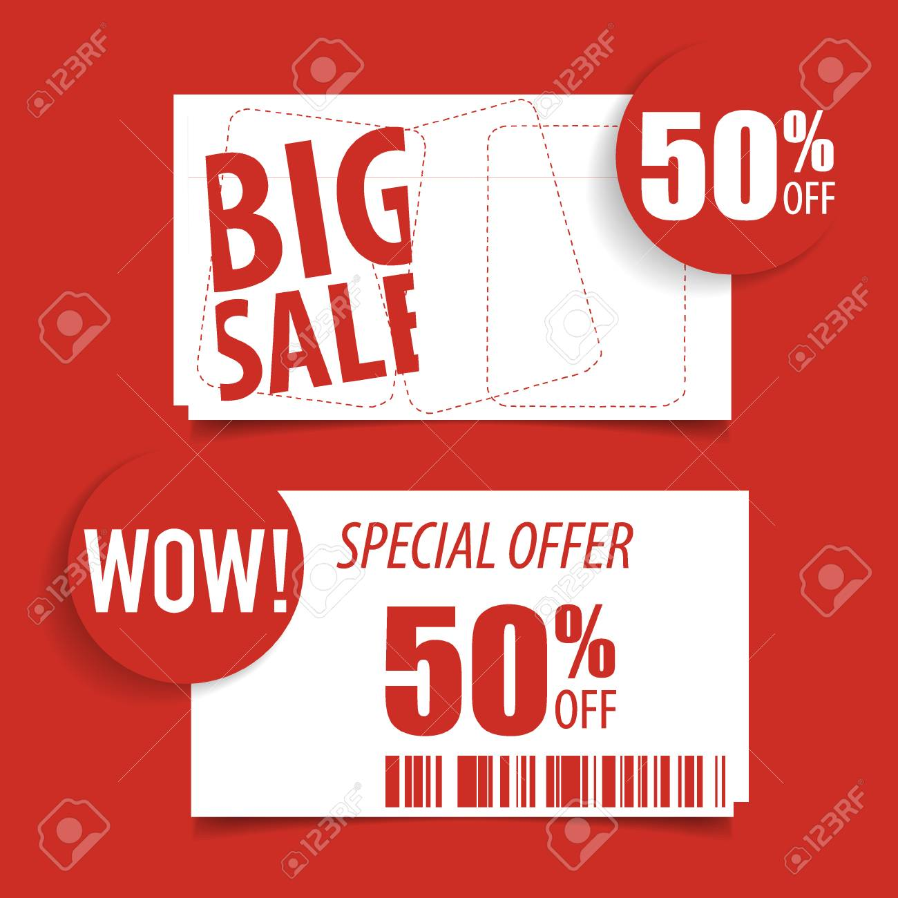 sale label price tag template design vector illustration royalty