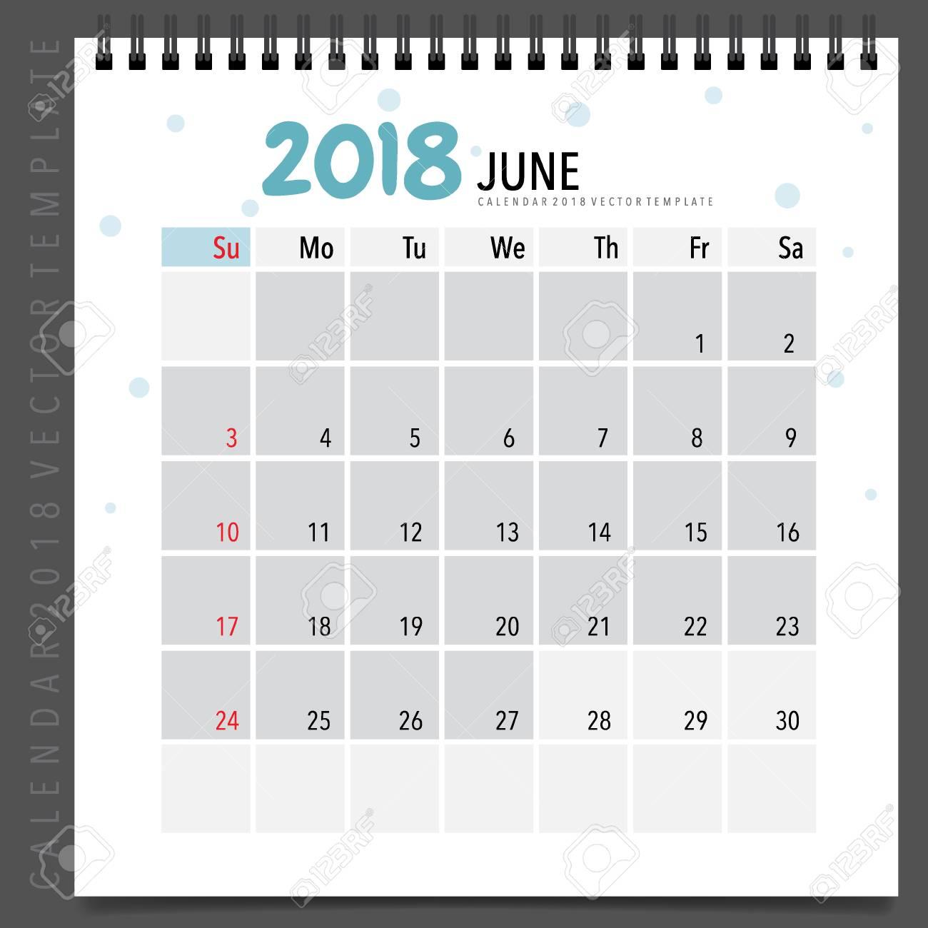 monthly 2018 calendar