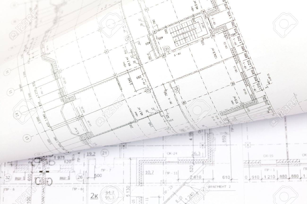 Architectural Drawing Background