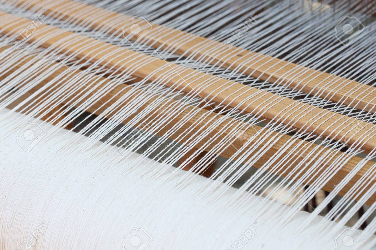 background of the loom at the fair - 9597935
