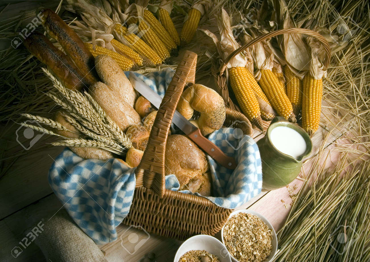 Bread mix Stock Photo - 786815
